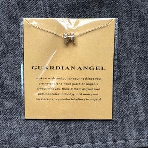 👼🏼14k gold dipped Guardian Angel Wing necklace